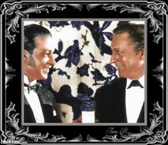 Rudolph Valentino (left) and John Barrymore (right)
