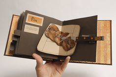 Bread: An Instructional Pop-Up Book. $750.00, via Etsy.
