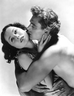 Johnny Weissmuller & Maureen O'Sullivan in Tarzan the Ape Man, 1932