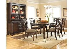 Dark Brown Hayley Dining Room Table Https Www