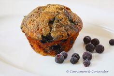 Best Brown Sugar Blueberry Muffins
