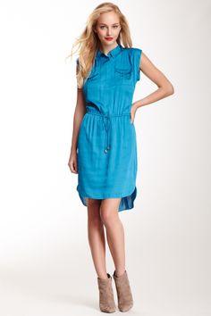 Vince Camuto Rumpled Safari Dress  DressWomen #Dresses