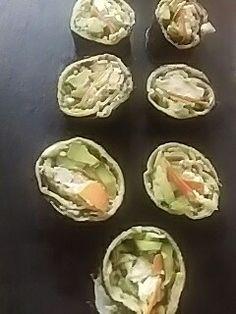 Sushi zonder rijst. Zooo lekker.