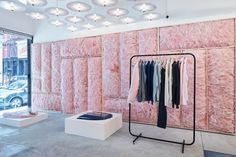 Ervell store by Patrik Ervell and Joseph Whang, New York City