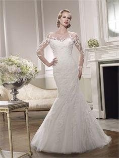 2015 White/Black Mermaid Sweetheart Zipper Lace Organza Wedding Dresses Bridal Gowns AWD630047