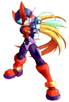 Zero & Buster Shot - Characters & Art - Mega Man Zero