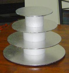DIY Tutorial DIY Cake Stands / DIY Making a Simple Cupcake Stand - Bead&Cord