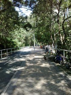 A park in Hong Kong
