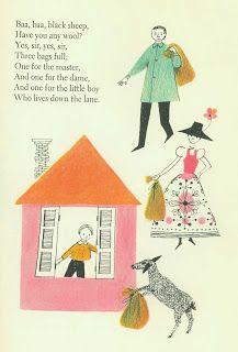 Details from Best in Children's Books, Adrienne Adams illustration, Nelson Doubleday, 1960.