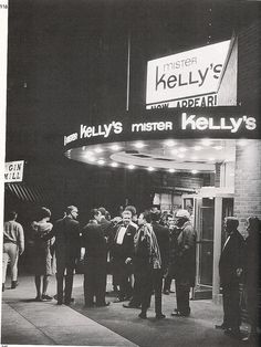 Mister Kelly's 1967 now home of Gibson's steak house - we went there to see the celebs perform when I was in my 20s.