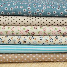 Blue Cotton fabric fat quarter bundle tilda Diy cloth sewing craft home textile fabric patchwork quilting Textile Fabrics, Home Textile, Pattern Pictures, Patchwork Quilting, Fat Quarters, Fabric Patterns, Home Crafts, Sewing Crafts, Cotton Fabric