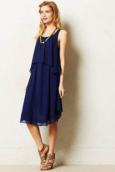 Tiered Midi Dress Anthropologie