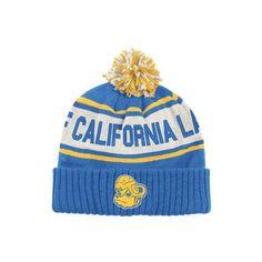 UCLA Bruins adidas Originals Vault Super Cuffed Knit Hat ❤ liked on Polyvore