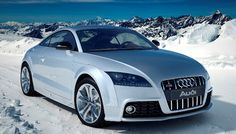 Gorgeous Audi TTS in the Stunning Alps
