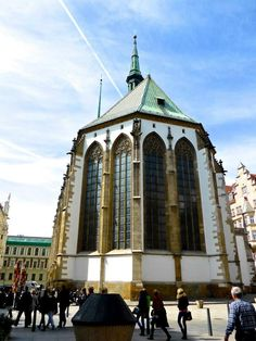 Church of St. James (contains an ossuary) - Brno, Czech Republic