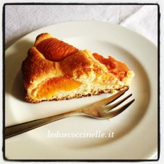 Una semplicissima torta di albicocche