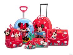 Disney Wonder - Minnie Mouse Collection by Samsonite #Disney #Samsonite #MinnieMouse #Minnie #Mouse #Travel #Kids #School #Schoolbag #MySamsonite #ByYourSide