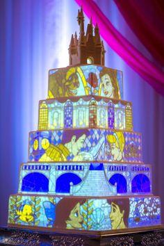 Nice 40 Stunning Wedding Cake Disney Theme https://weddmagz.com/40-stunning-wedding-cake-disney-theme/