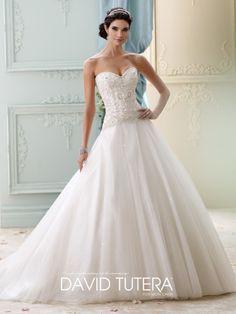 David Tutera - Velvet - 215273 - All Dressed Up, Bridal Gown