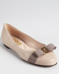 There is something about Ferragamo flats that have me swooning nearly every time.