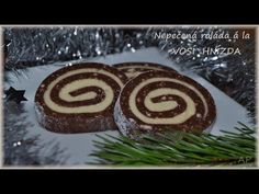 Roláda ala vosí hnízda | Vaříme doma Slovak Recipes, Czech Recipes, Ethnic Recipes, German Recipes, Christmas Goodies, Christmas Baking, Christmas Holidays, Xmas, Sushi