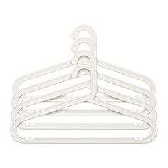 IKEA - BAGIS, Hanger, indoor/outdoor, white, , Suitable for both indoor and outdoor use.UV-light treated, which helps the plastic last longer.
