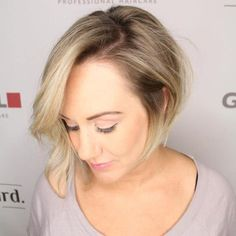 Asymmetrical Bob For Thin Hair