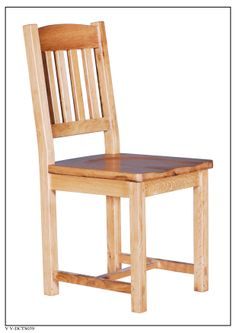 ELEPHANT  FURNITURE - Vancouver Value - Dining Chair w/ Timber Seat (420mm x580mm x 1000mm High) - V V-DCTS039