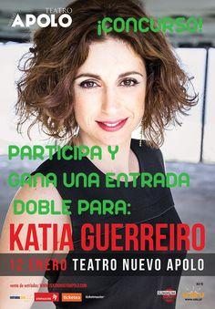 Concurso Katia Guerreiro:La fadista actúa este jueves en el Teatro Nuevo Apolo de Madrid y sorteamos una entrada doble entre los participantes.