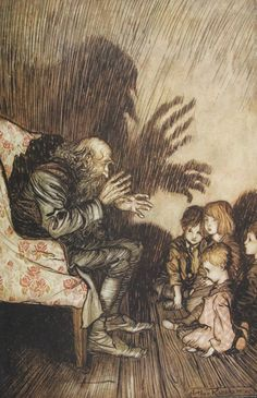 Okay, maybe it isn't a huge mystery, but I love this Arthur Rackham image and can't tell which work it is from. Any ideas?