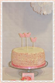 tarta de nata y fresas   tarta de cumpleańos