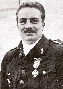 French WWI fighter ace, Robert Joseph Delannoy was born 2/9 1890.