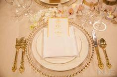 Gold table decor | Bridal Extravaganza of Atlanta