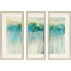 Found it at AllModern - Lights on the Beach 3 Piece Framed Painting Print Set