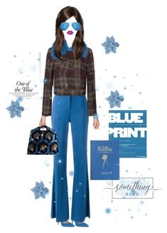 """""""Why Are Mondays Always colored Blue?"""" by shellygregory ❤ liked on Polyvore featuring Ivanka Trump, Roberto Cavalli, Topshop Unique, Dries Van Noten, Boohoo and Lime Crime"""