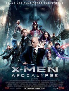 X-Men: Apocalypse : Les mutants surplombés par Apocalypse posent sur l'affiche française - News films Vu sur le web - AlloCiné