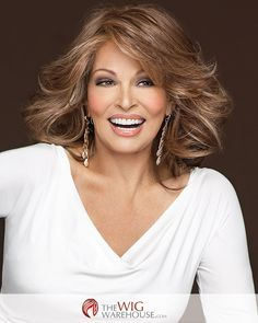 Embrace your inner goddess with the Goddess wig by Raquel Welch. With incredible layered wavy locks, this is a dynamic wig you'll fall in love with. The ultra-long bangs can be styled off the face, th