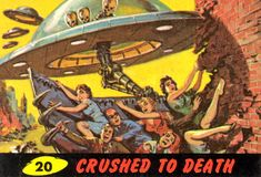 mars attacks cards - Google Search