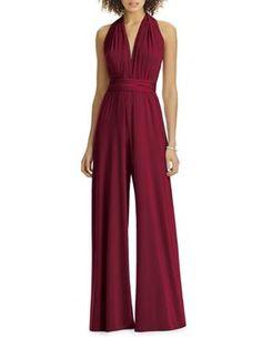 66feb87907d9 Convertible Jumpsuit Infinity Bridesmaid jumpsuit   Jumper Dressy Jumpsuit  Wedding