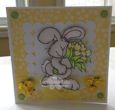 Stamps: Bunny Blooms