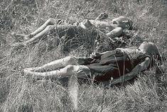 Finnish children killed by Soviet partisans at Seitajärvi in Finnish Lapland 1942.