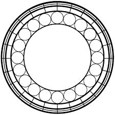 Resultado de imagen para stained glass pattern circle