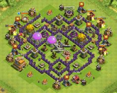 Town Hall 7 is the first level in Clash of Clans where players actually have enough walls, traps, and towers piece together a very effective defensive layout. With the right base set up, TH7 player...