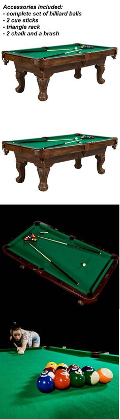 Tables 21213: Billiard Pool Table 7 Ft Solex Addison W Table Tennis Top  Complete  U003e BUY IT NOW ONLY: $379 On EBay! | Tables 21213 | Pinterest |  Billiard ...