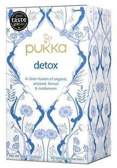 Herbata Detox to unikalna mieszanka oczyszczających ziół, mająca fantastyczne właściwości odtruwające. Codzienna filiżanka tej herbaty pozytywnie wpływa na pracę układu pokarmowego. Włoski koper i anyż, kardamon i korzeń lukrecji.