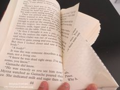 book folding book art step 2