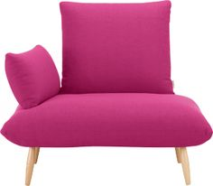 Naoko Chair (Fuchsia). Innovative Naoko Chair With Removable Back And Arm  Cushions.