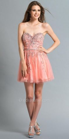 Pleated skirt prom dresses