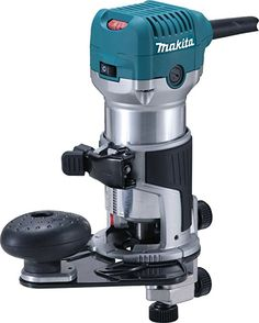 Makita RT0700CX3 1-1/4 Horsepower Compact Router Kit - Fixed Base Power Routers - Amazon.com Lathe Tools, Woodworking Tools, Makita Power Tools, Metal Bender, Saw Wood, Miter Saw, Tool Box, Espresso Machine, Compact