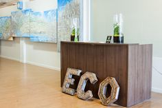 eco systm coworking space Entrance in San Francisco.